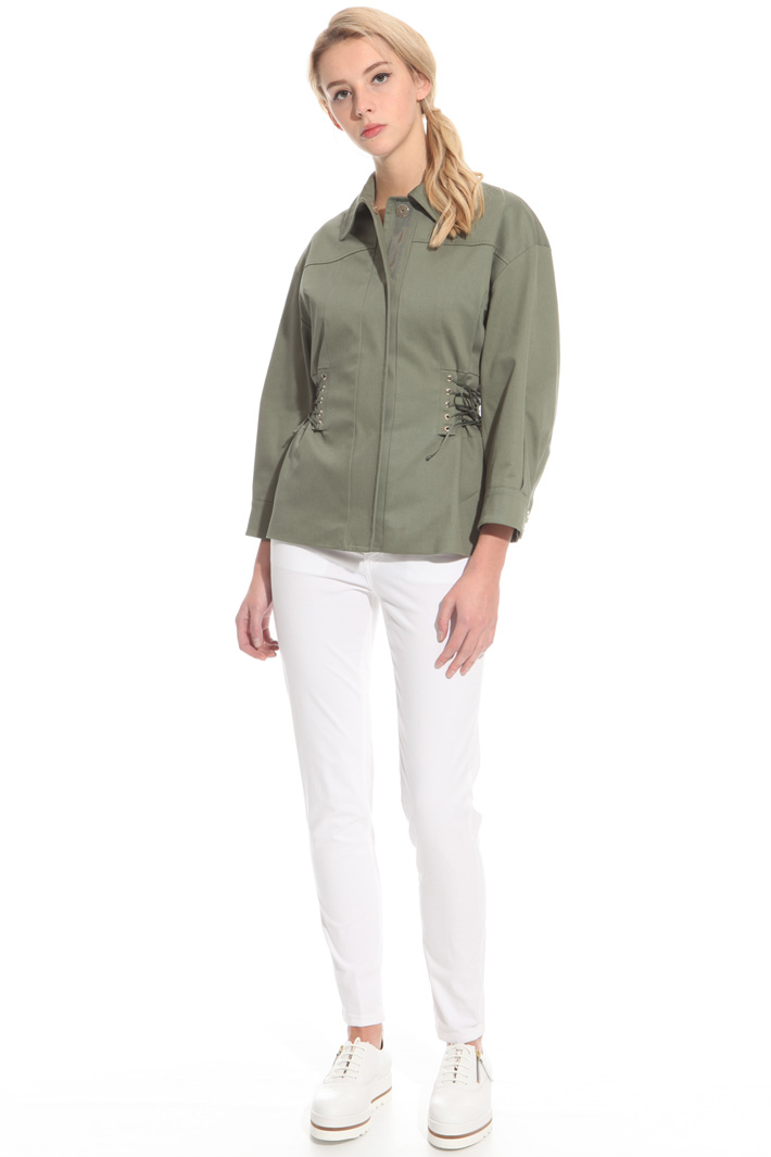 Lace-up jacket Intrend