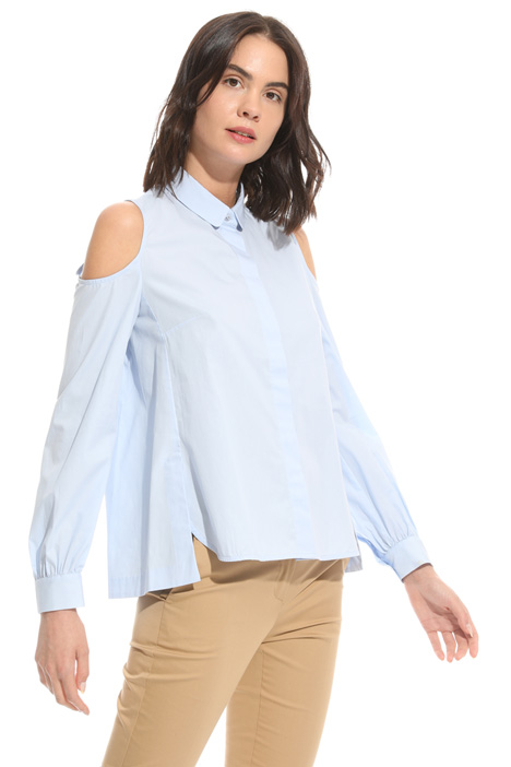 Camicia con cut-out Intrend