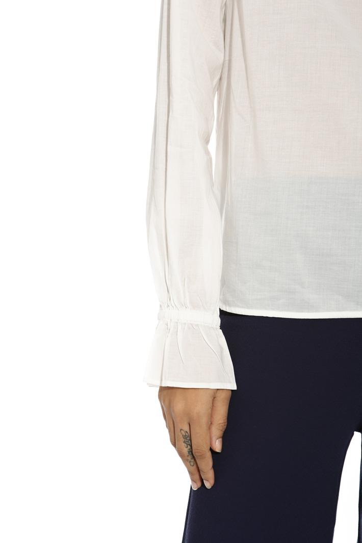 Blusa in voile di cotone Intrend