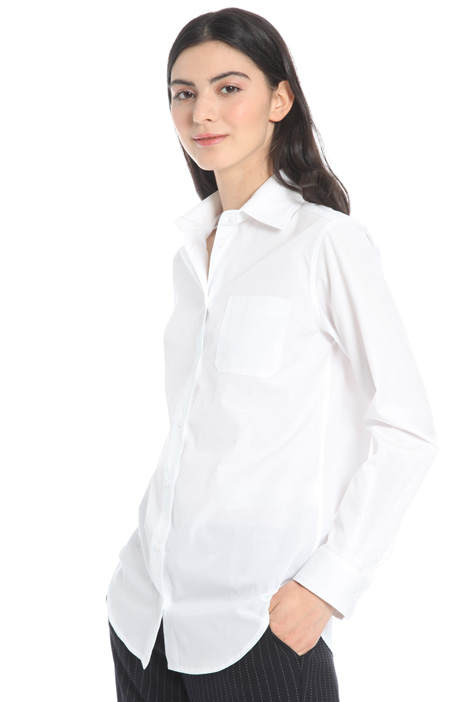 Camicia basic in cotone Intrend
