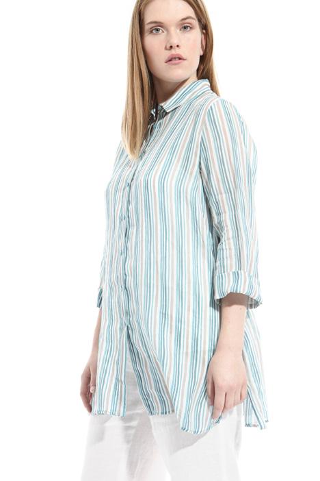 Printed linen shirt Intrend