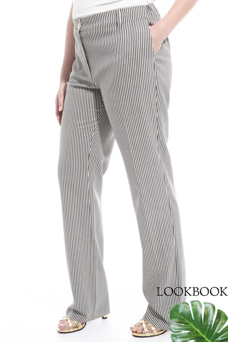 Pantalone in lana Intrend