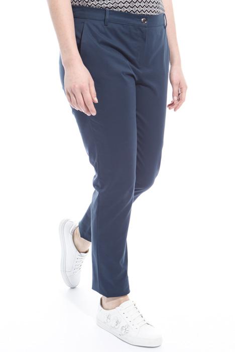 Pantalone in canvas di cotone Intrend
