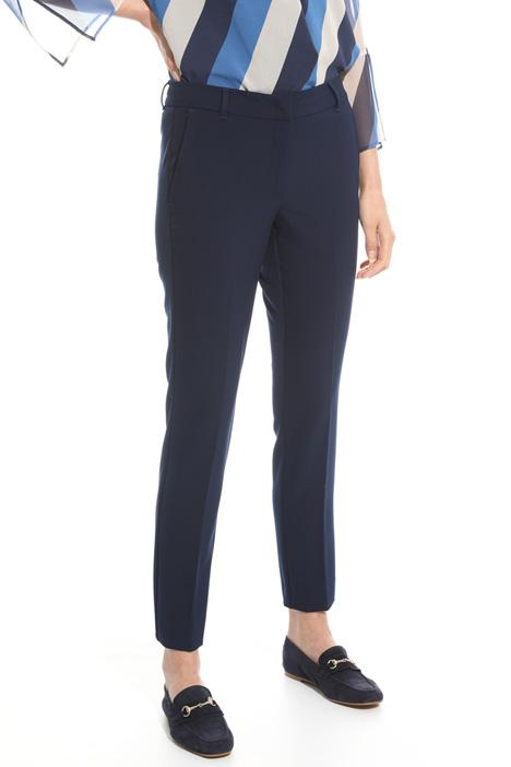 Pantalone in twill compatto Intrend