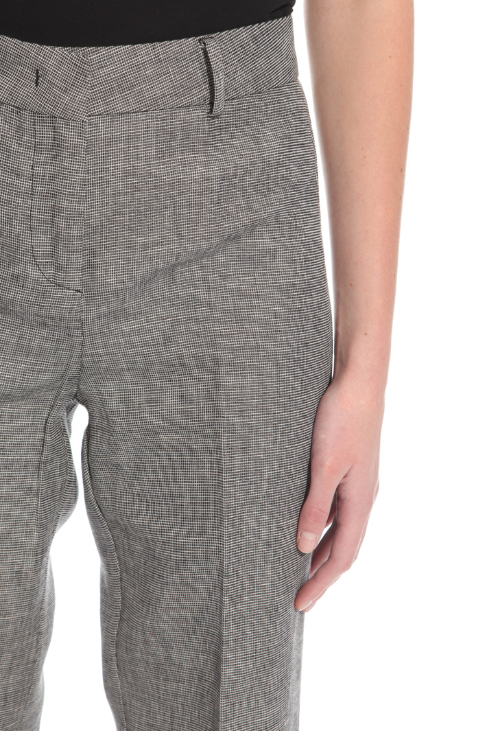 Yarn-dyed trousers Intrend
