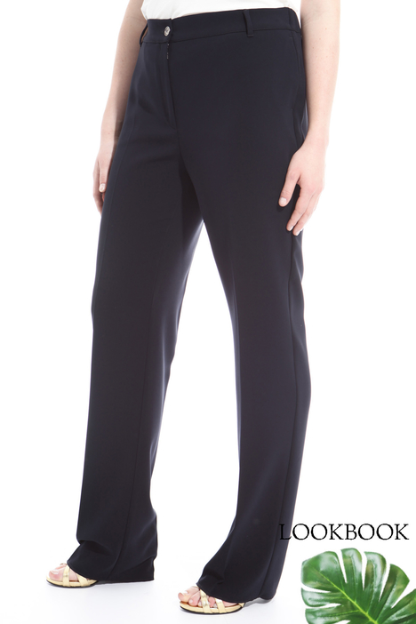 Pantaloni in tessuto stretch Intrend