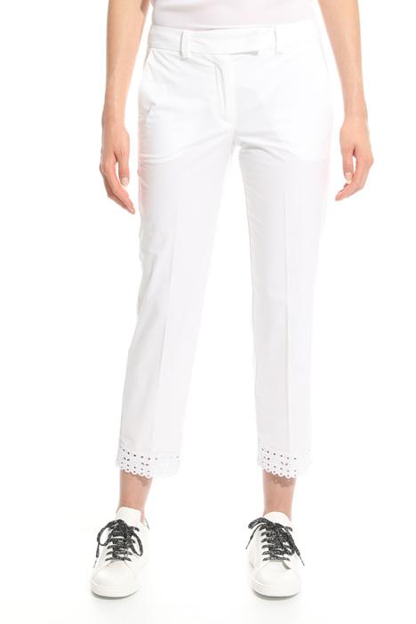 Pantalone con fondo smerlato Intrend