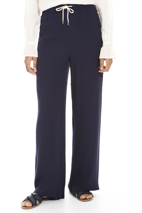 Crepe fluid trousers Intrend