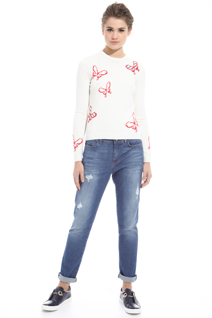 Ripped jeans Intrend