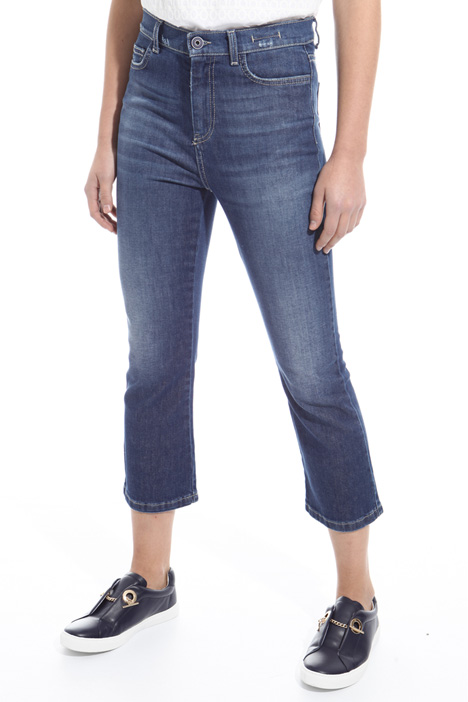 Flared denim jeans Intrend