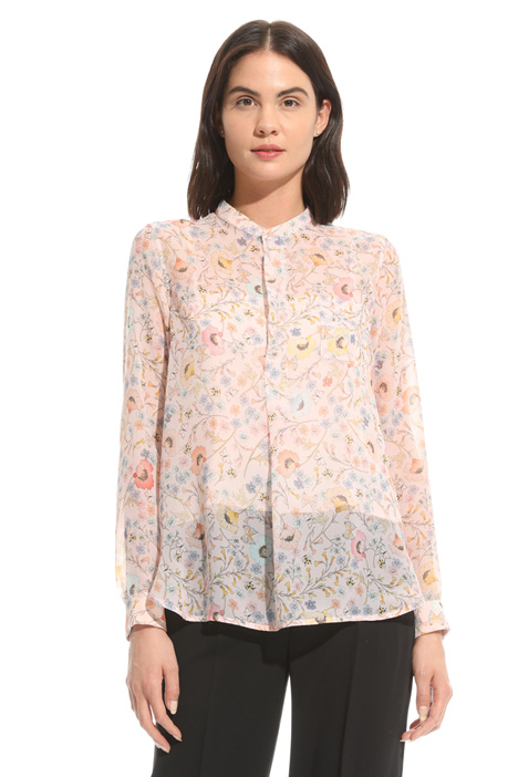 Blusa in chiffon Intrend