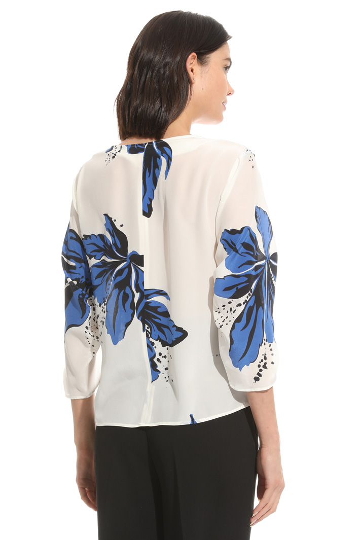 Blusa in crepe stampata Intrend