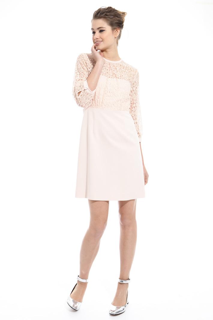 Lace princesse-line dress Intrend