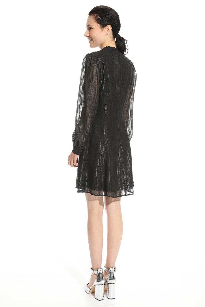 Puffed sleeve dress Intrend