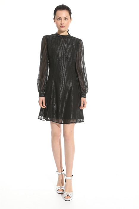 Puffed sleeve dress Intrend