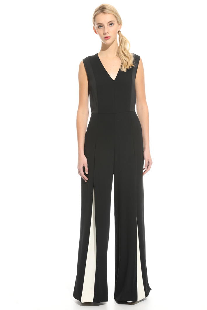 Jumpsuit with inserts Intrend