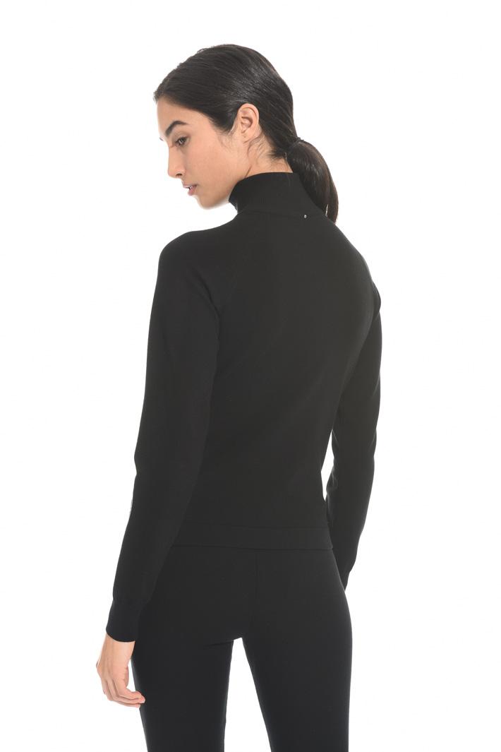 Viscose cardigan with zip Intrend