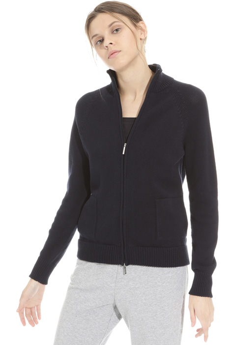 Cardigan con zip Intrend