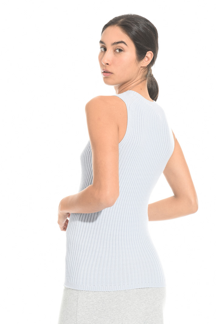 Ribbed cotton top Intrend