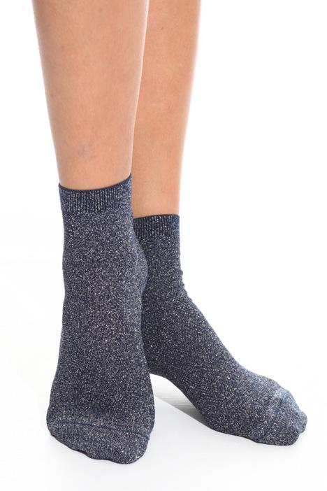 Lurex pique socks Intrend