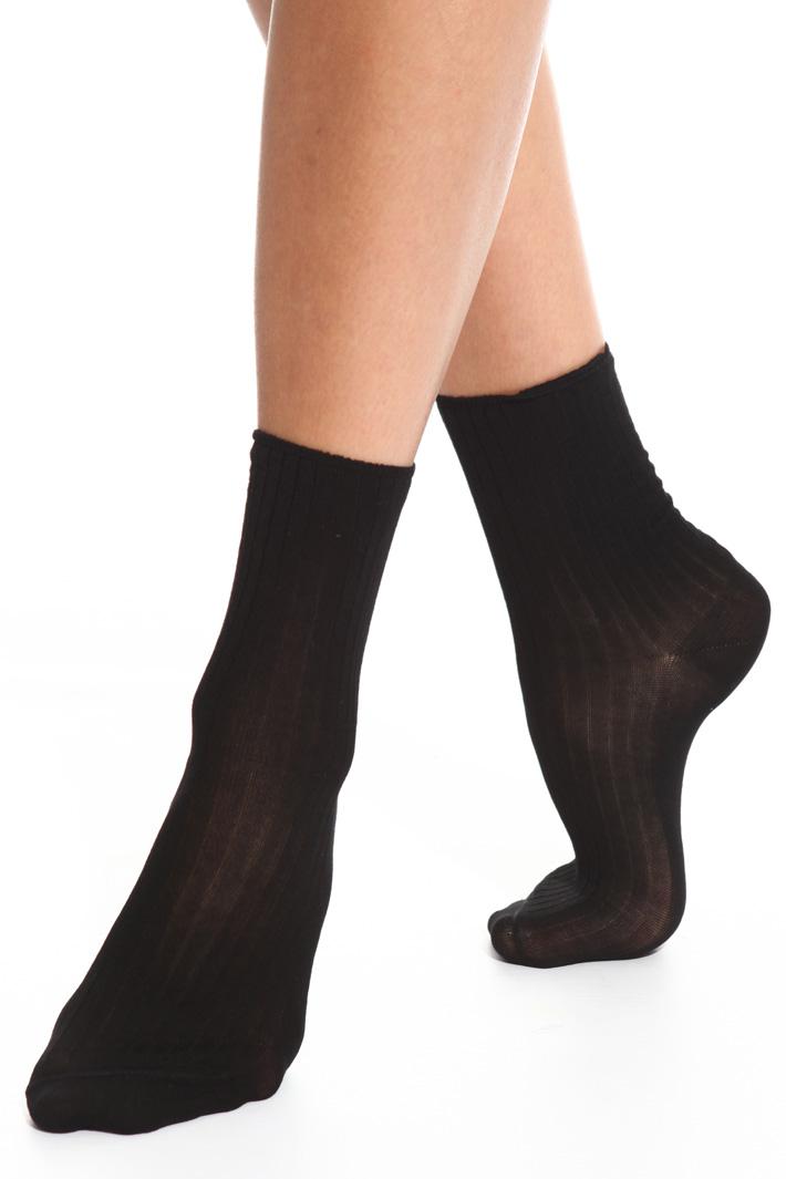 Ribbed socks Intrend