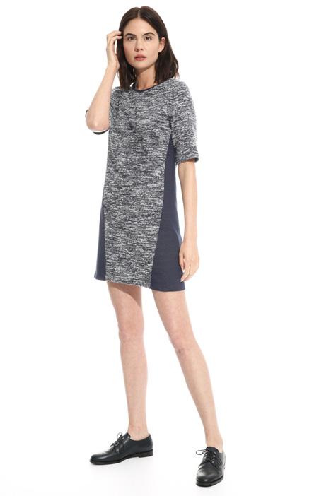 Jersey boutonné dress  Intrend