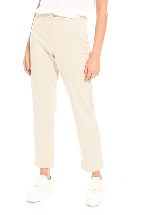 Pantalone in tessuto diagonale Intrend