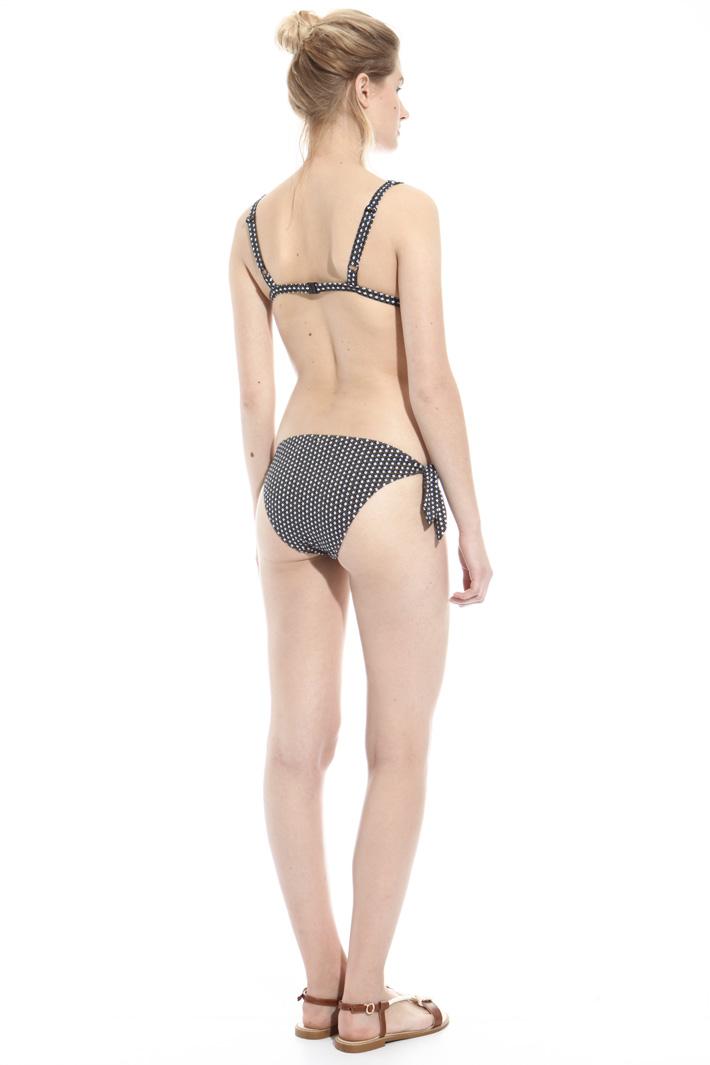 Printed bikini slip Intrend