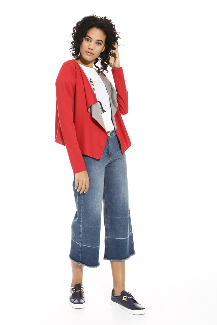 Double jersey jacket Intrend