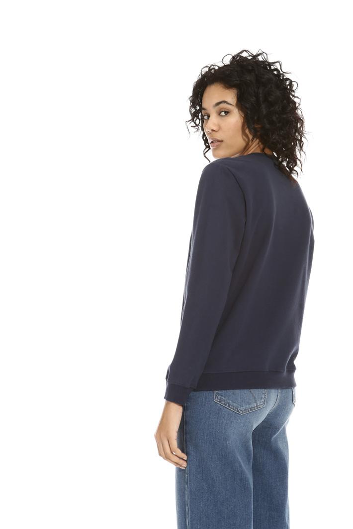 Sweatshirt with beads  Intrend