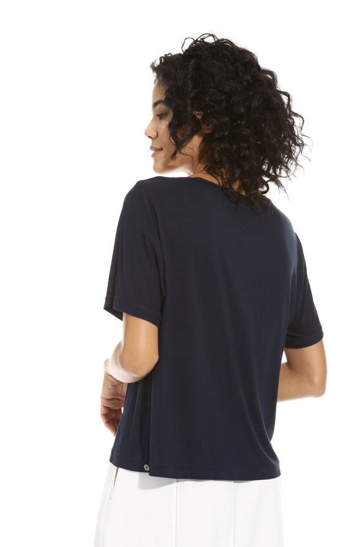 T-shirt in viscosa Intrend
