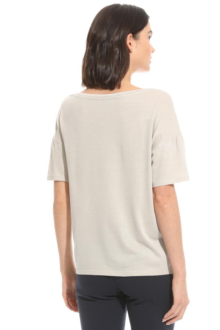 T-shirt con maniche corolla Intrend
