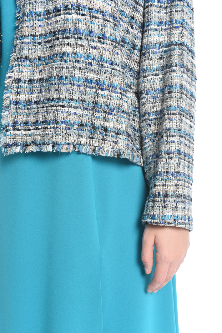 Giacca in bouclé lurex Intrend