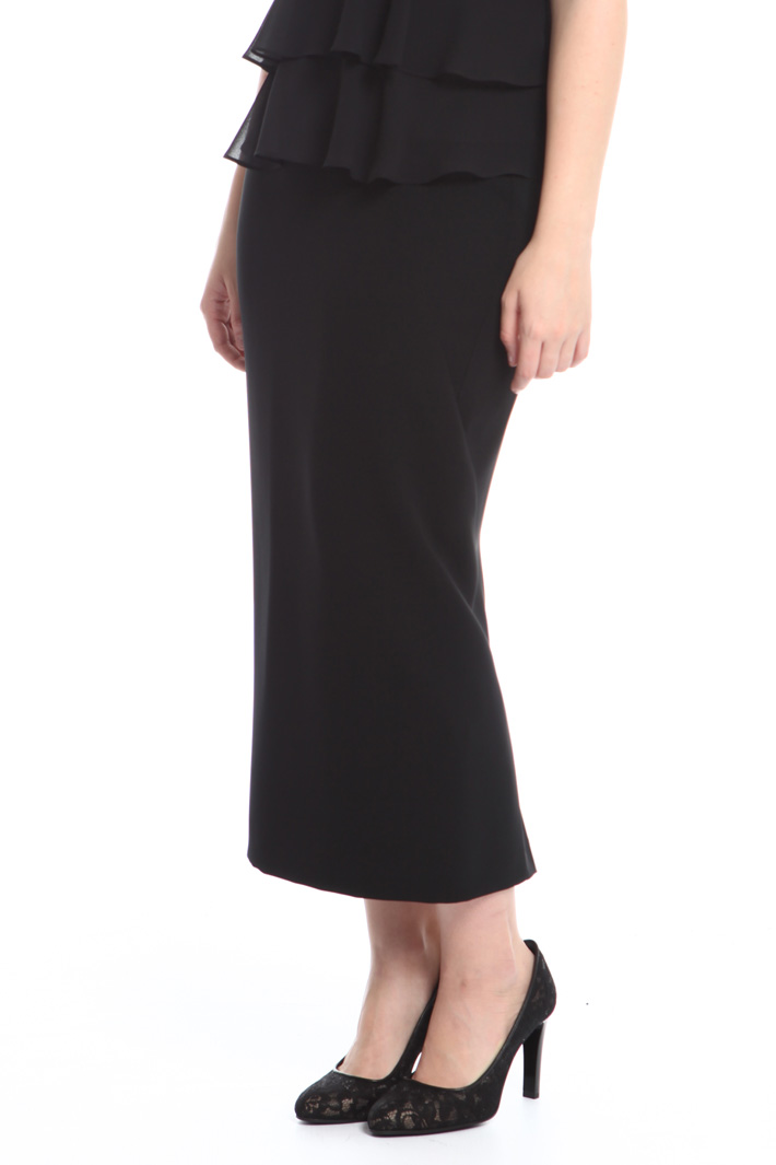 Long pencil skirt Intrend