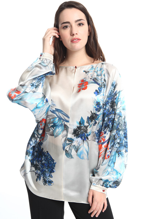 Silk satin tunic Intrend