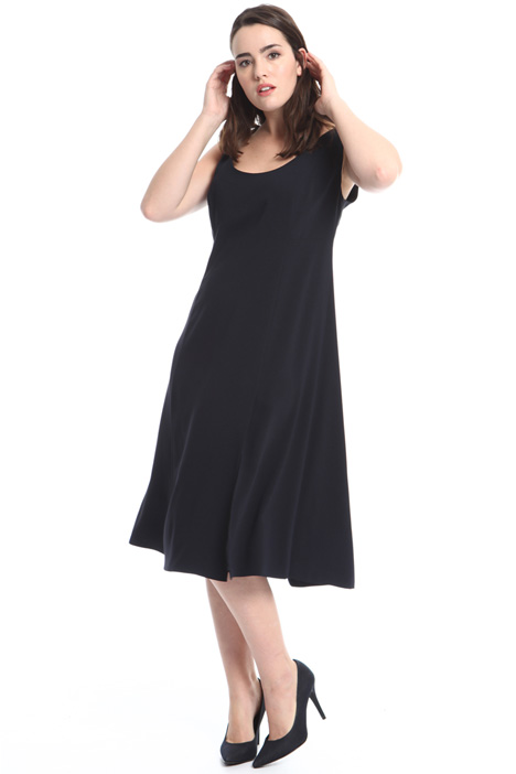 Fluid crepe dress Intrend