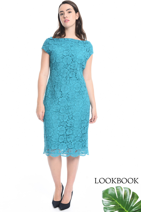 Lace sheath dress Intrend