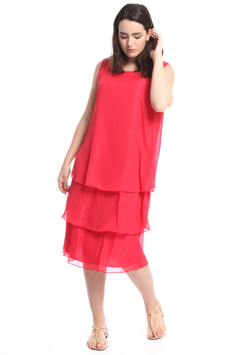 Layered creponne dress Intrend