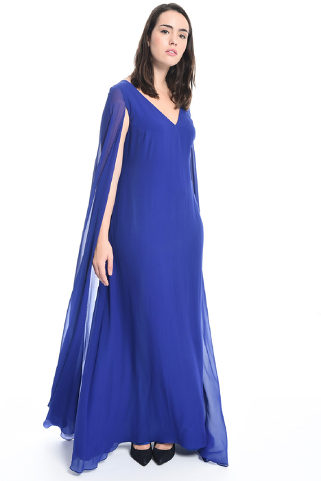 Long georgette dress Intrend