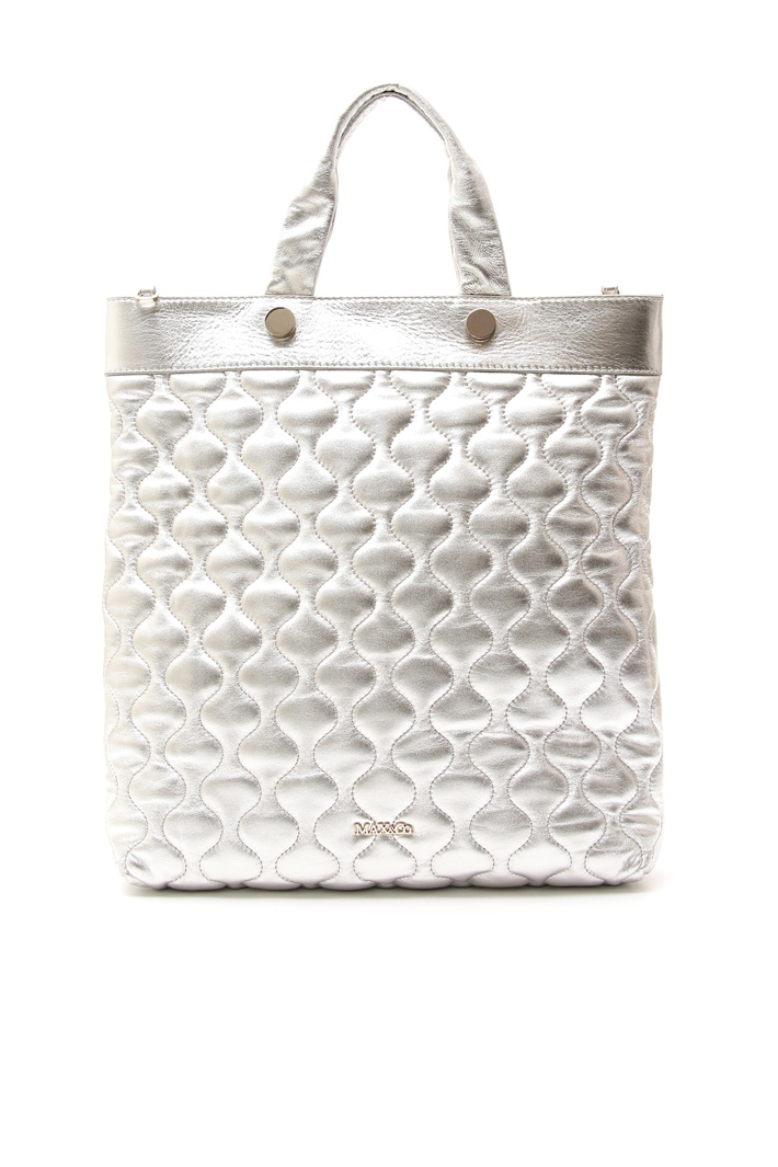 Quilted-effect shopper bag Intrend