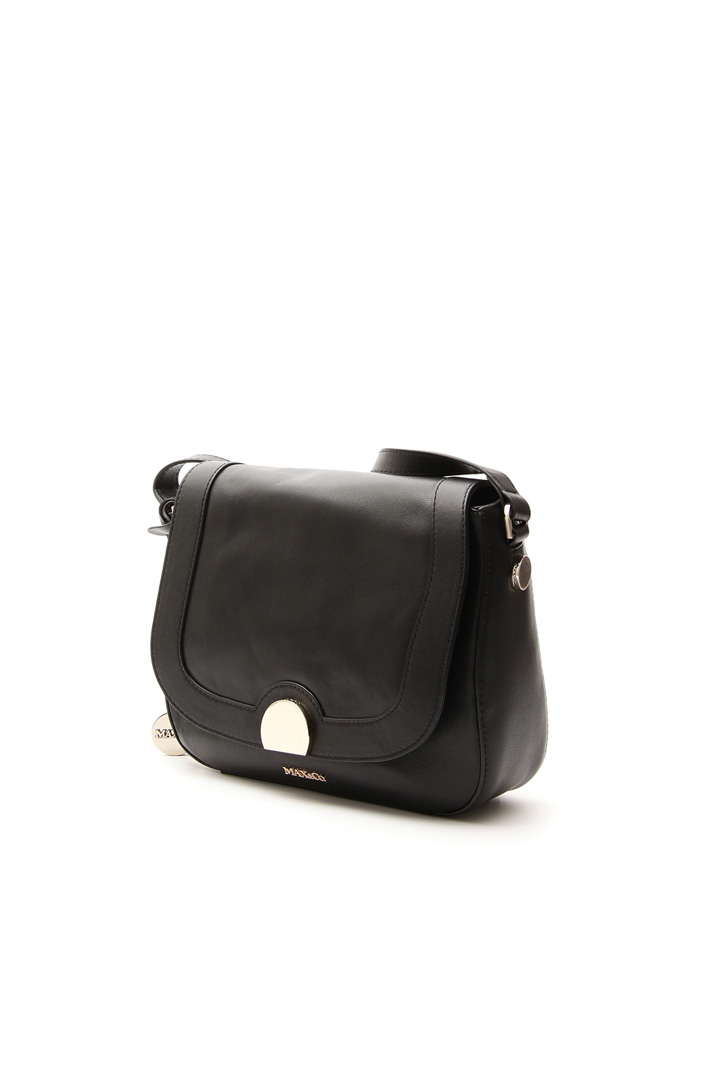 Leather bag with strap Intrend