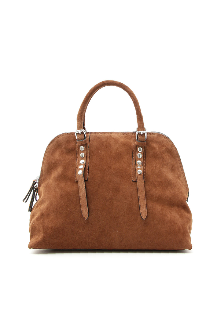 Suede handbag Intrend