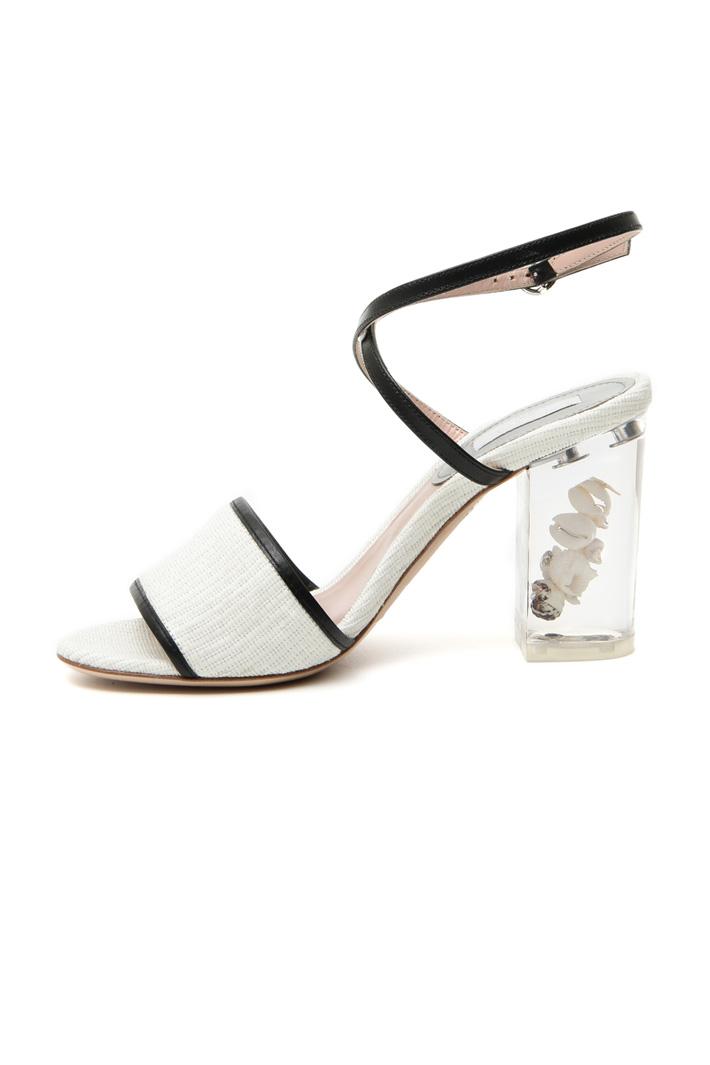 Transparent heel sandals Intrend