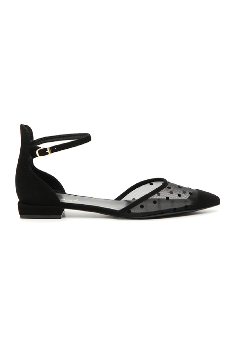 Ankle-strap ballerinas Intrend