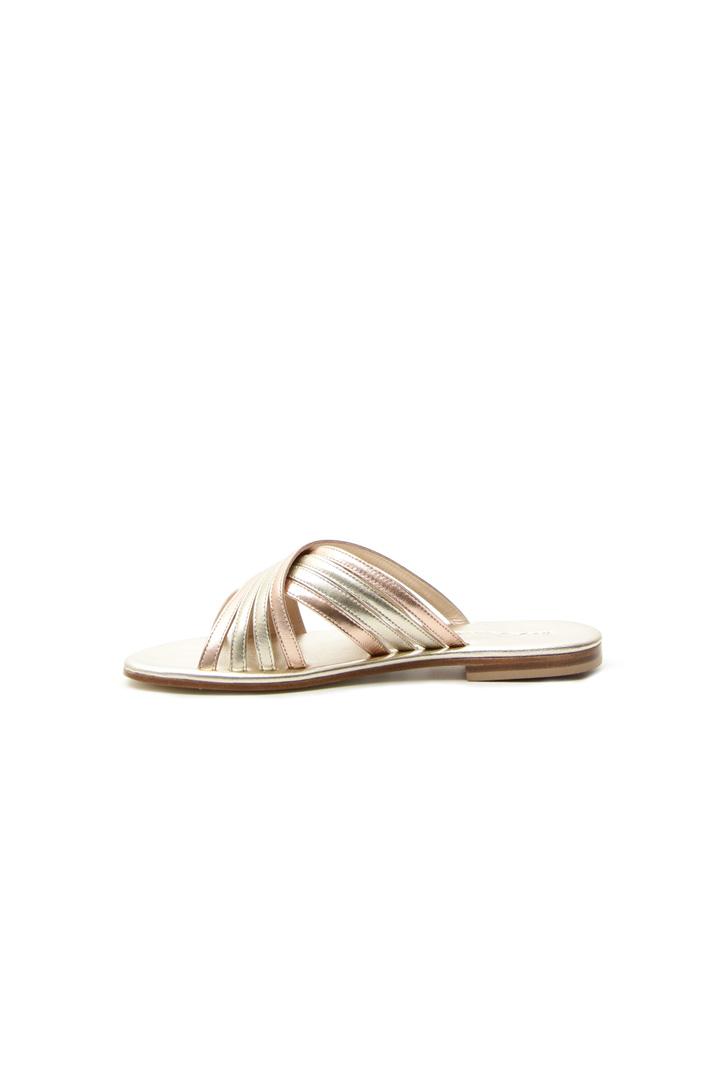 Two-colored strap slipper Intrend