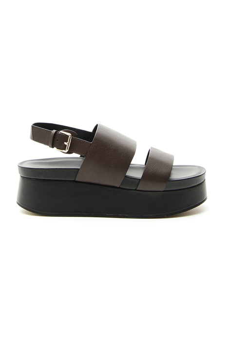 Leather platform sandals Intrend