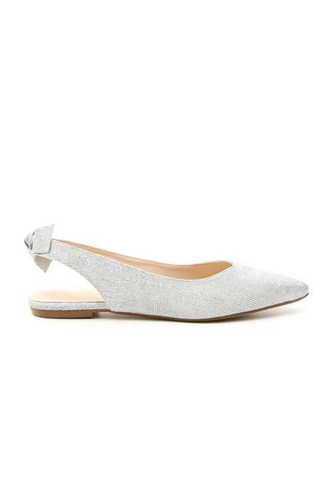 Slingback in tessuto lurex Intrend