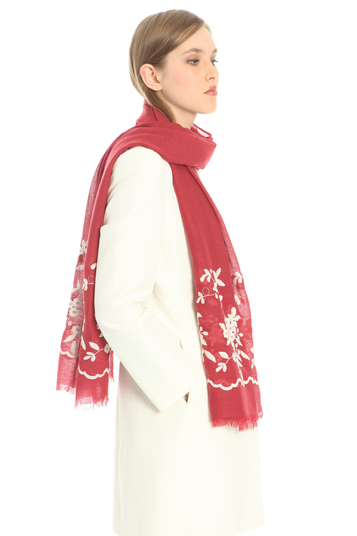 Embroidered scarf Intrend