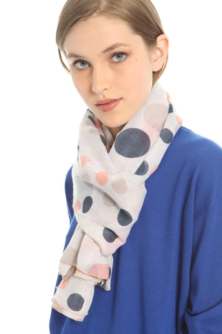 Fantasy print scarf Intrend