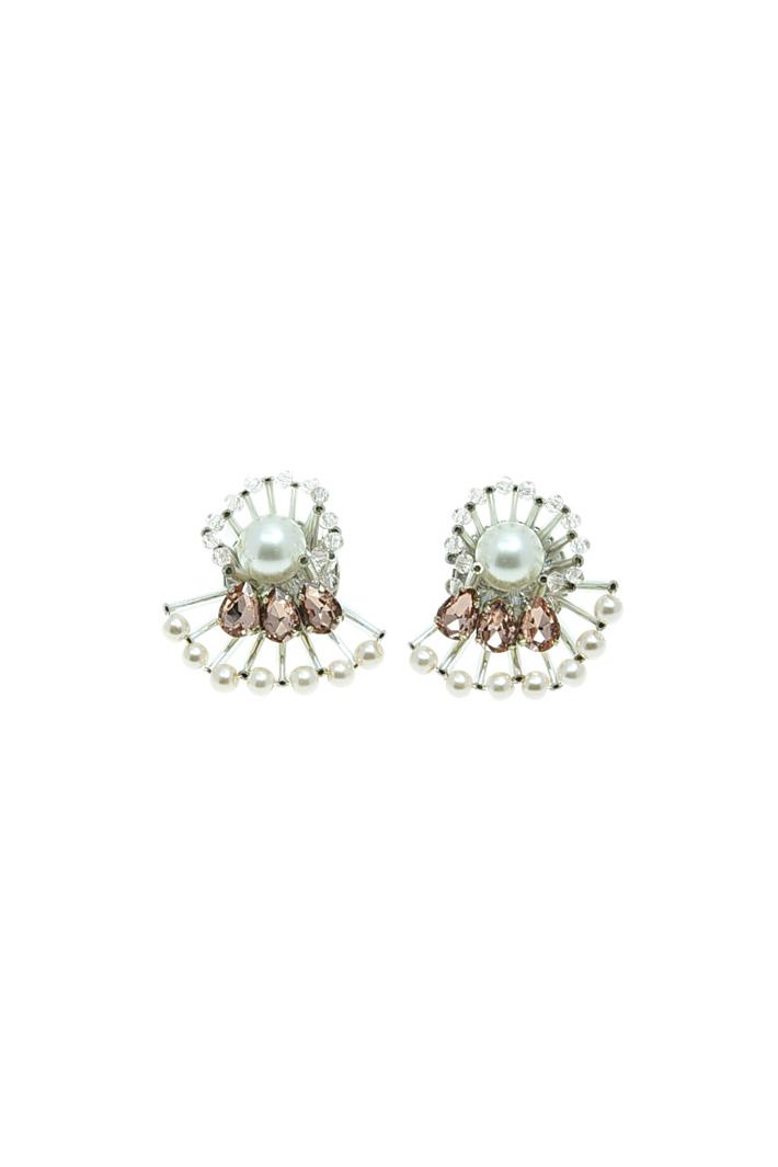 Fan-shaped earrings Intrend
